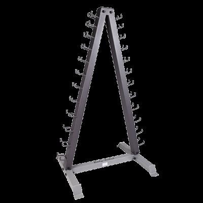 Body-Solid 12 pair Vertical Dumbbell Rack (GDR24)